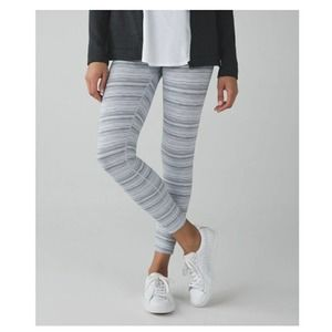Lululemon x SoulCycle High Times 7/8 Leggings Sz 4